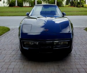 Image of a 1986 Chevrolet Corvette