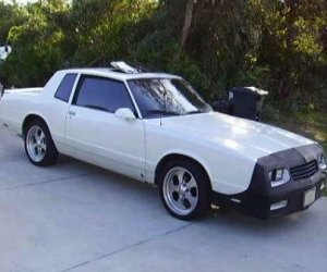 Image of a 1986 Chevrolet Monte Carlo SS Clone