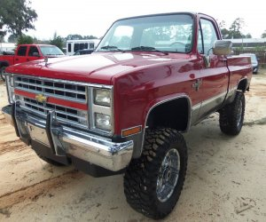 Image of a 1987 Chevrolet CK Pickup 1500