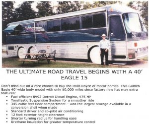 Image of a 1989 Eagle Golden Eagle 15