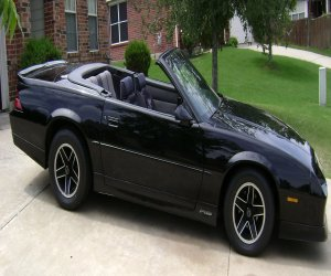 Image of a 1989 RS Convertible Camaro