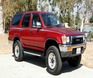 Image of a 1990 Toyota 4Runner