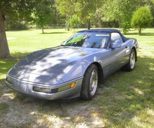 Image of a 1991 Chevrolet Corvette Convertible