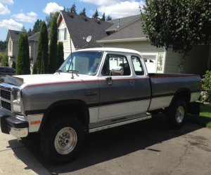 Image of a 1992 Dodge Ram 2500
