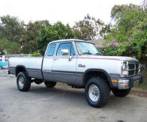 Image of a 1992 Dodge W250