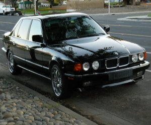 Image of a 1993 BMW 740IL