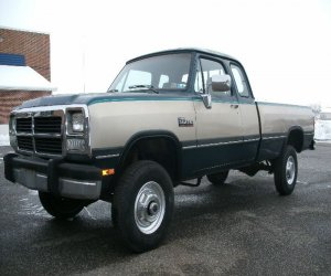 Image of a 1993 Dodge W250