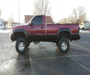 Image of a 1995 Dodge Ram 2500