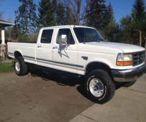 Image of a 1995 Ford F350