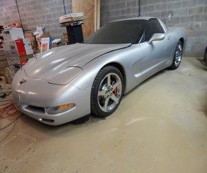 Image of a 1997 Chevrolet Corvette