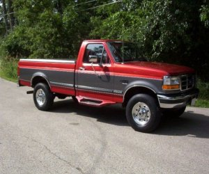 Image of a 1997 Ford F250
