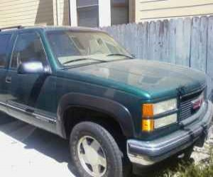 Image of a 1997 GMC yukon