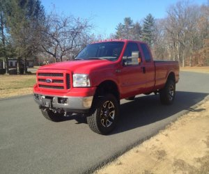 Image of a 2000 Ford F350