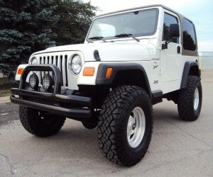 Image of a 2000 Jeep Wrangler Sport