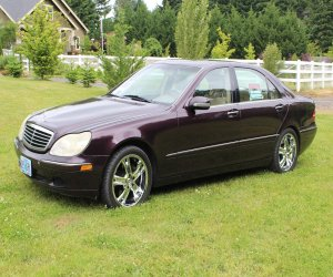 Image of a 2000 Mercedes Benz S430