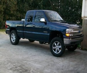 Image of a 2001 Chevrolet Silverado 1500