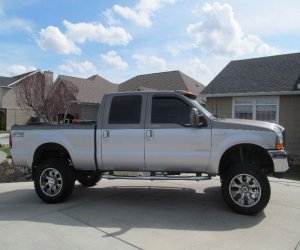 Image of a 2001 Ford F250