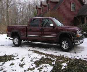 Image of a 2002 Chevrolet Silverado 2500 HD