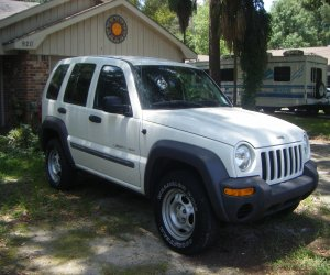 Image of a 2002 Jeep LIBERTY SPORT