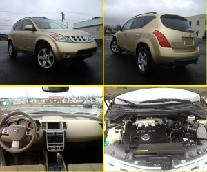 Image of a 2003 Nissan Murano