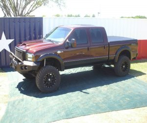 Image of a 2004 Ford F250