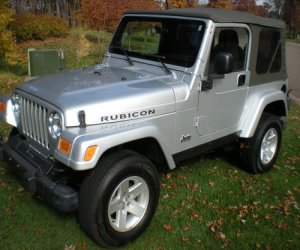 Image of a 2004 Jeep Wrangler