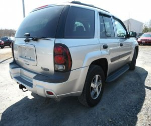 Image of a 2005 Chevrolet Trailblazer LT
