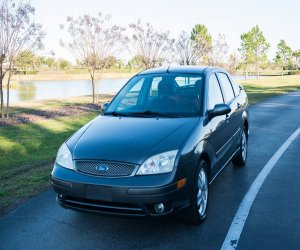 Image of a 2005 Ford Focus ZX4 ST