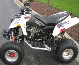 Image of a 2006 polaris predator