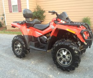 Image of a 2007 Can Am OUTLANDER MAX 800 4X4