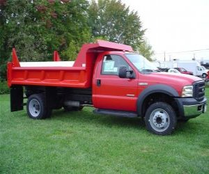 Image of a 2007 Ford F450 sd Dump truck 208