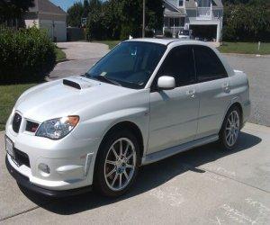 Image of a 2007 Subaru sti limited