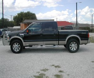 Image of a 2008 Ford F250 KING RANCH