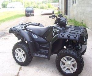 Image of a 2009 Polaris Sportsman XP850