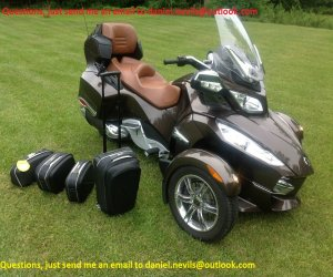 Image of a 2012 Can Am CAN AM SPYDER RT Limited