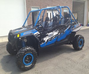 Image of a 2013 Polaris JAGGED RACING RZR X 900