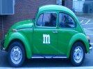Image of a 1973 Volkswagen Beetle
