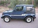Image of a 1986 Suzuki Samurai JX