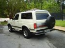 Image of a 1990 Ford Bronco XLT
