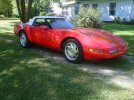 Image of a 1996 Chevrolet Corvette Convertible