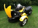Image of a 2010 Can Am Spyder RS
